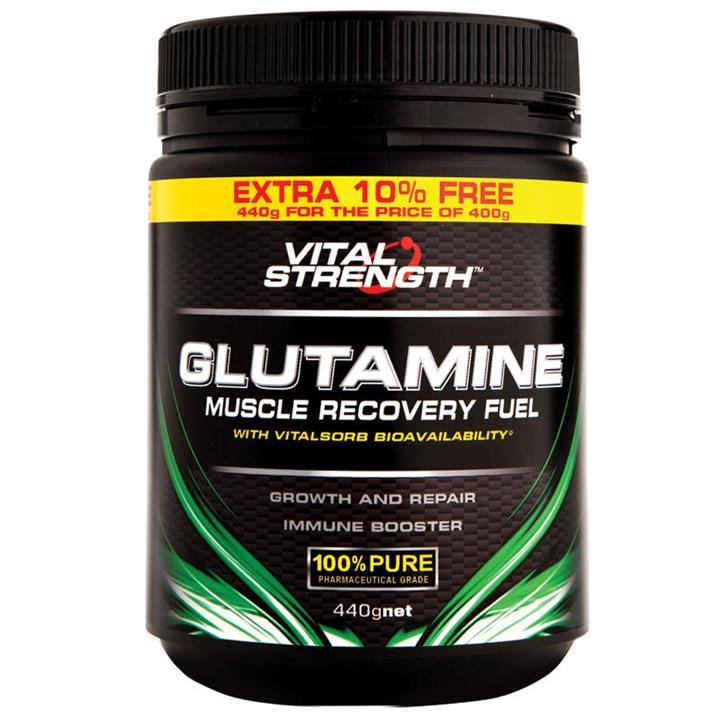 Vital Strength Glutamine Recovery Fuel 440g