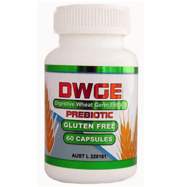 ASN DWGE Digestive Wheat Germ Extract 60 Capsules