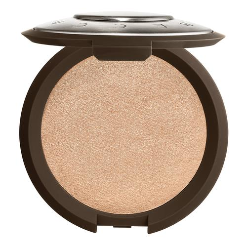 BECCA Shimmering Skin Perfector Pressed Highlighter Opal (neutral, white gold with soft pink pearl)