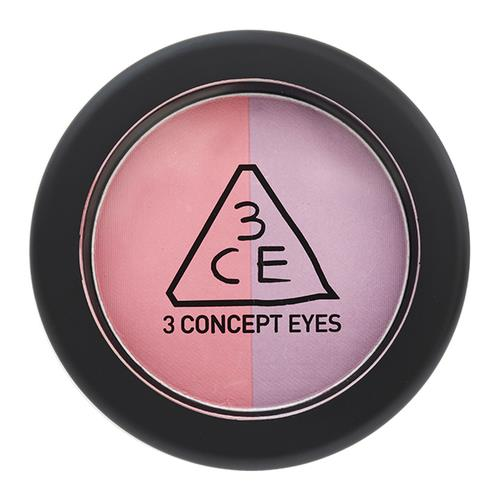 3CE 3CE Duo Color Face Blush Crème De Violette