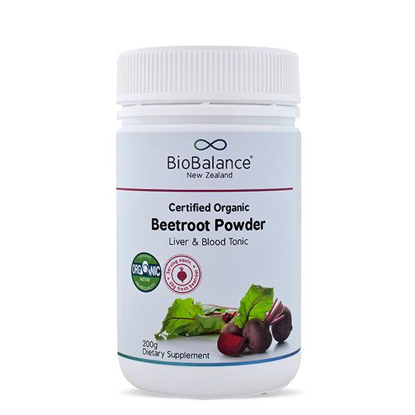 BioBalance Certified Organic Beetroot Powder 200gm