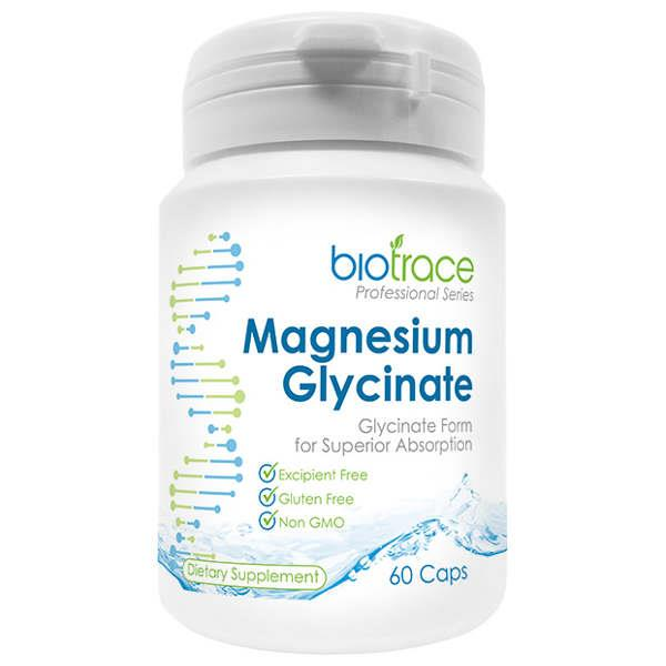 BioTrace Magnesium Glycinate 60 vegecaps