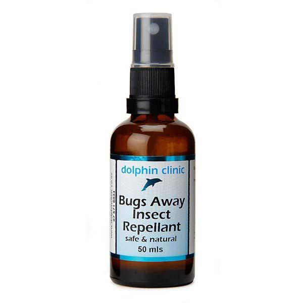 Dolphin Clinic Bugs Away Insect Repellent 50mL