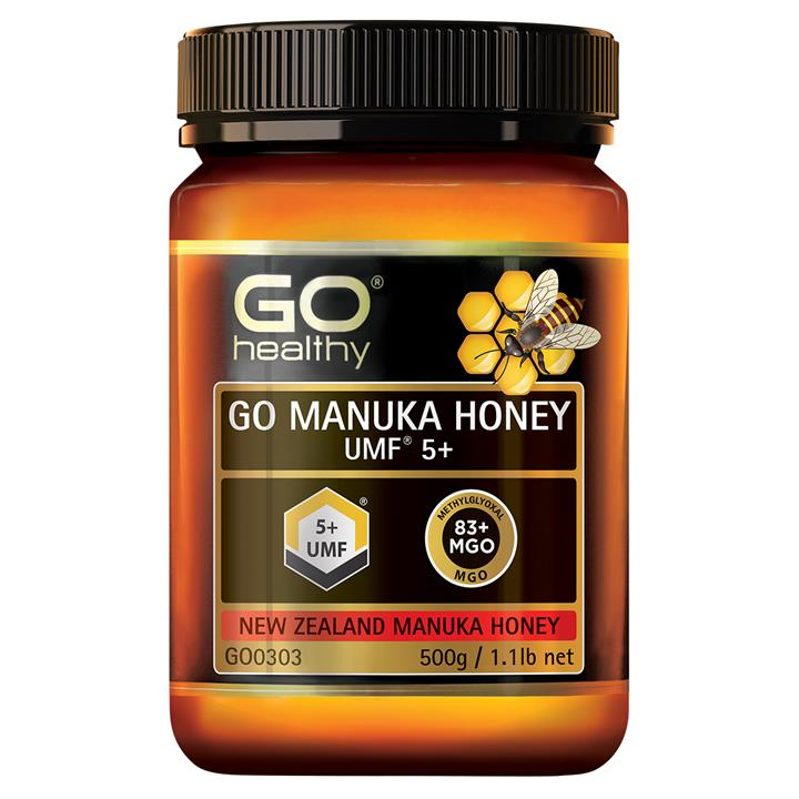 GO Healthy Go Manuka Honey UMF5+ (MGO 80+) 500gm