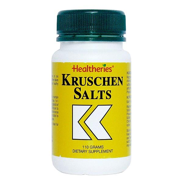 Healtheries Kruschen Salts 110gm
