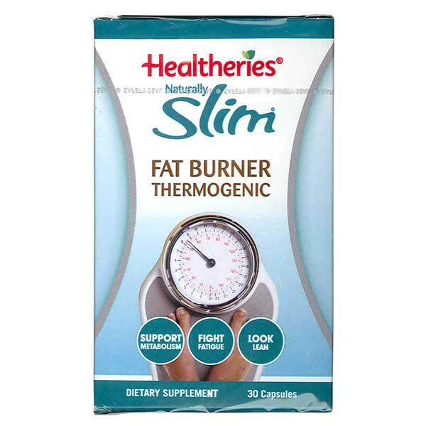 Healtheries Naturally Slim Thermogenic Fat Burner 30 capsules