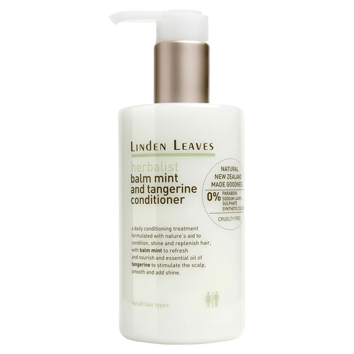 Linden Leaves Herbalist Balm Mint and Tangerine Conditioner 60ML