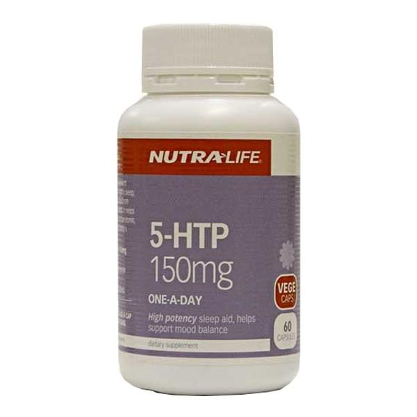 Nutra-Life 5-HTP 150mg One-A-Day 60 capsules