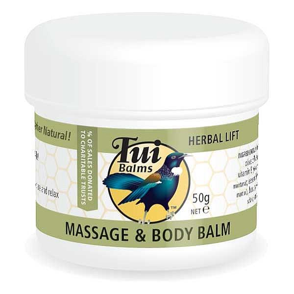 Tui Balms Massage & Body Balm – Herbal Lift 50gm