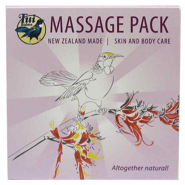 Tui Balms Massage Pack 4x 50gm