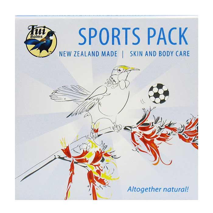 Tui Balms Sports Pack 4x 50gm