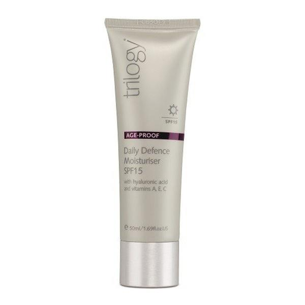 Trilogy Age Proof - Daily Defence Moisturiser with SPF15 50mL