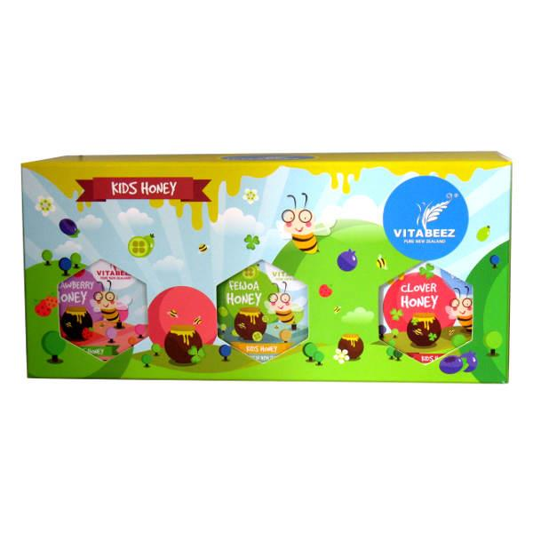 Vitabeez Kids Honey Gift Pack 3 x 250gm