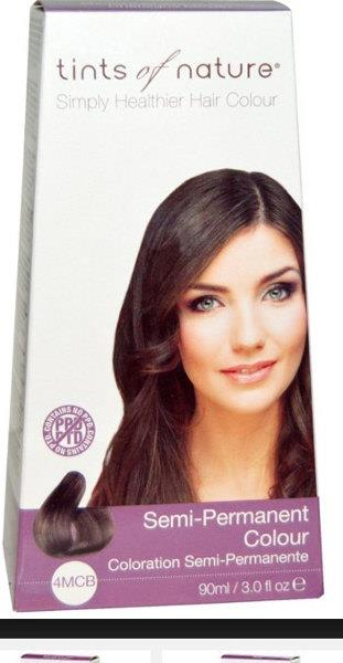 Tints of Nature Semi Permanent Chestnut Brown 4MCB 90ml