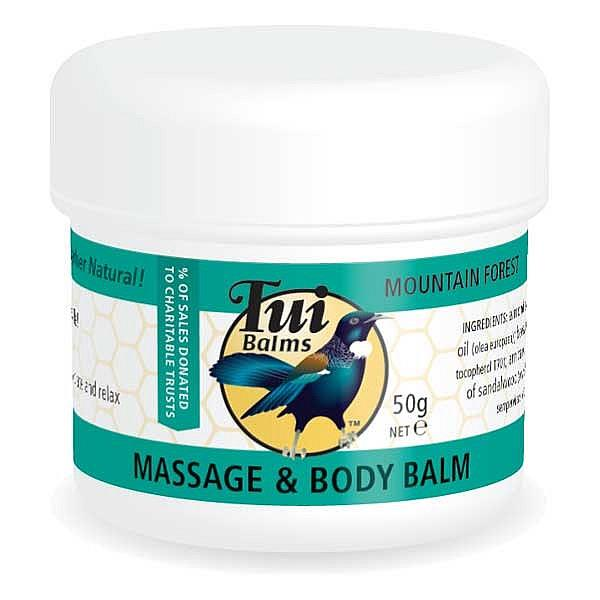 Tui Balms Massage & Body Balm – Mountain Forest 300gm