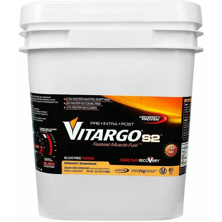 Vitargo S2 (unflavoured) 4.95kg : Unflavoured / Unsweetened