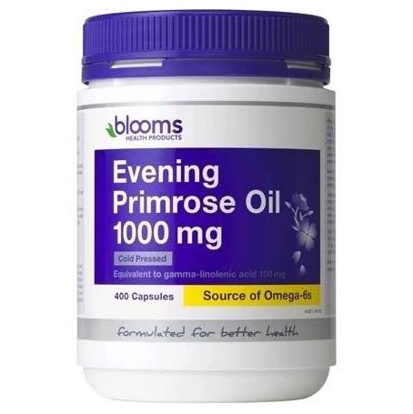 Evening Primrose Oil 1000mg 400 Capsules - Blooms