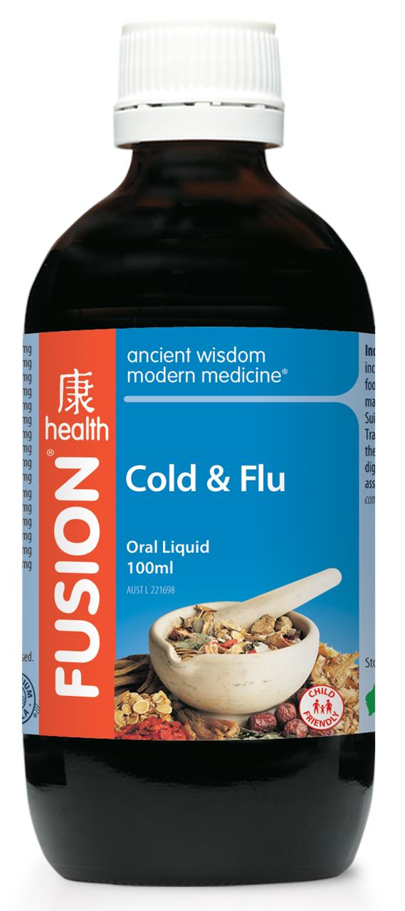 Fusion Health Cold & Flu 100ml