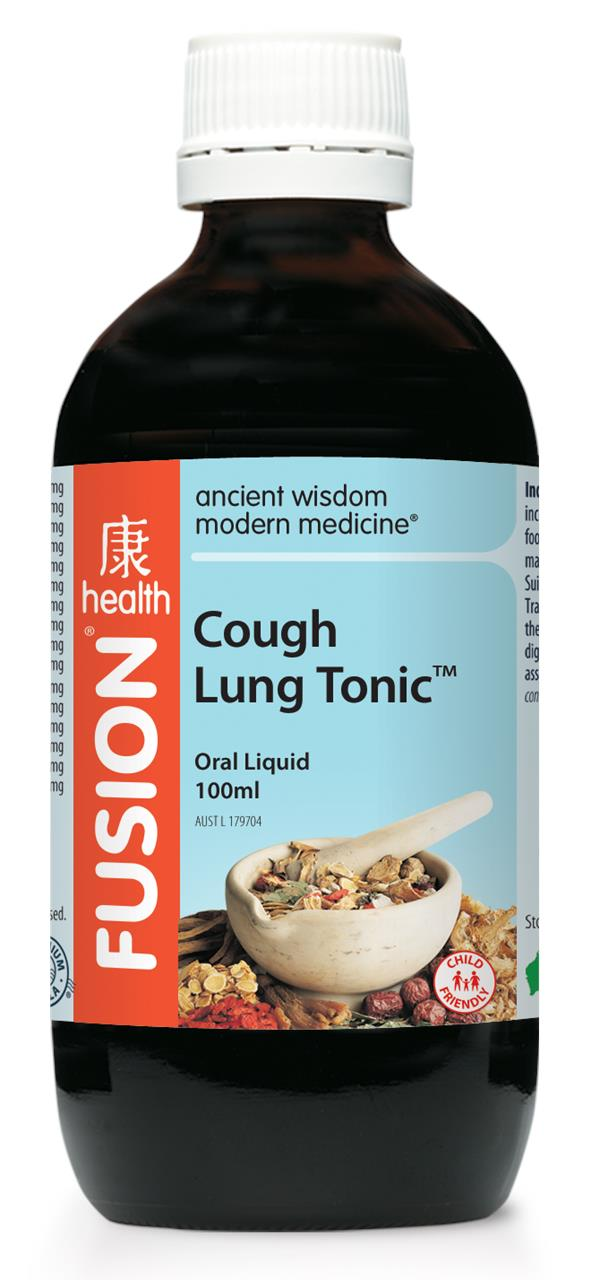 Fusion Health Cough Lung Tonic 100ml