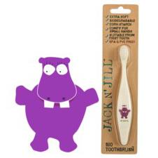 Biodegradable Toothbrush Hippo – Jack N Jill