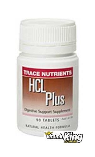 HCL Plus 90 Tablets by Trace Nutrients (Interclinical Laboratories)