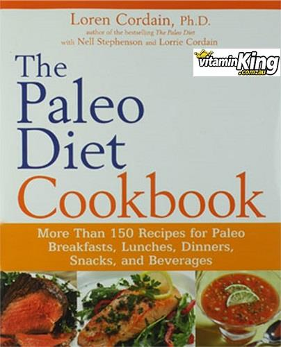 The Paleo Diet Cookbook Book - Loren Cordain