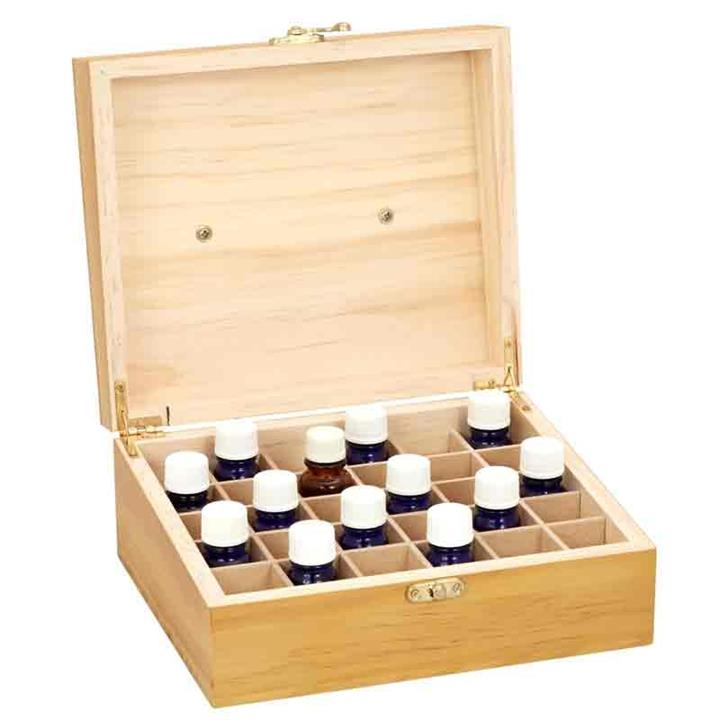 Essential Oils Storage Box Executive (30 Slots) – Aromamatic Products
