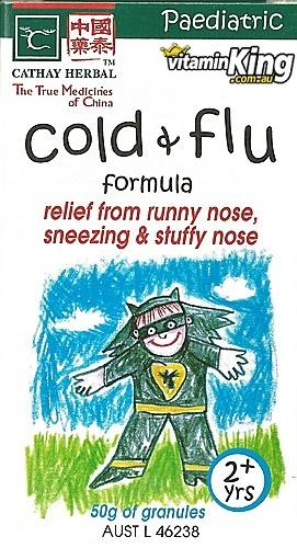 Colds & Flu Paediatric Formula 50g – Cathay Herbal