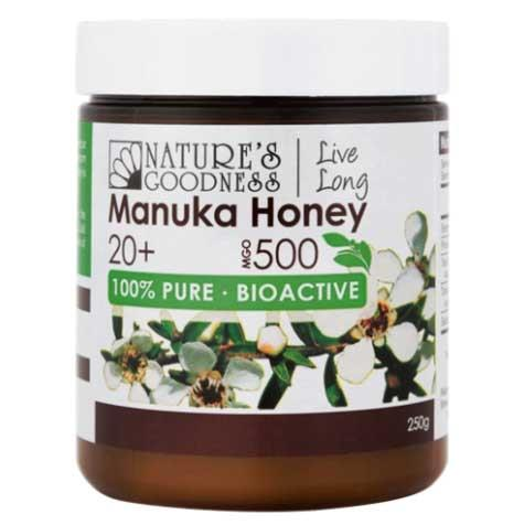 Manuka Honey MGO 500 250g – Natures Goodness
