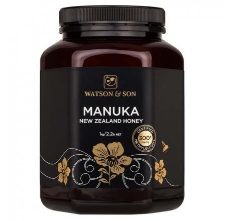 300+ MGO 250g Black Label Manuka Honey – Watson & Son