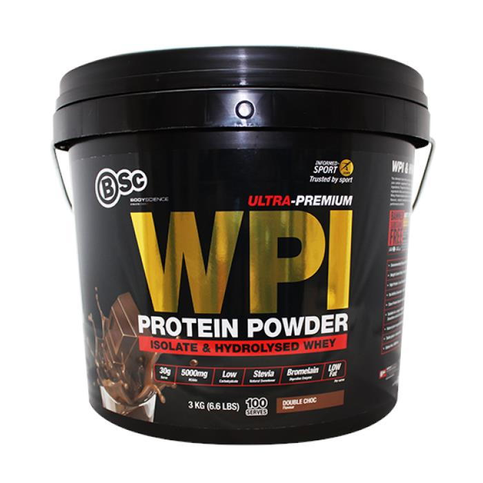 BSc Whey Protein Isolate 3kg Double Choc