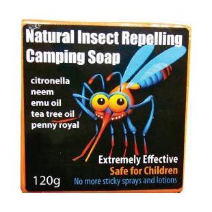 Emu Oil Soap Insect Repelling 120g by Only Emu