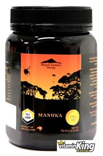 Manuka Honey UMF10+ 1kg – Mount Somers