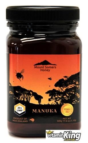 Manuka Honey UMF20+ 500g – Mount Somers