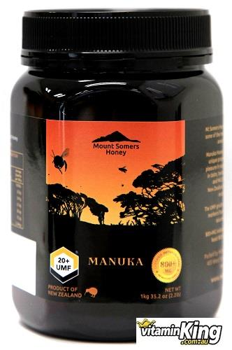Manuka Honey UMF20+ 1kg – Mount Somers