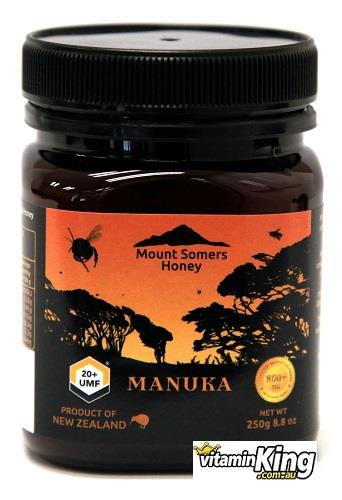 Manuka Honey UMF20+ 250g – Mount Somers