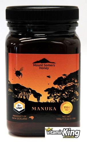 Manuka Honey UMF5+ 500g – Mount Somers