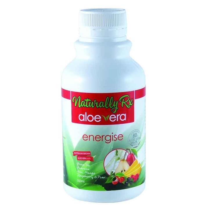 Aloe Vera Energise 80% 500ml - Naturally Rx