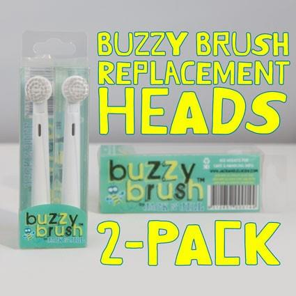 Buzzy Brush Replacement Heads 2 Pack – Jack N Jill