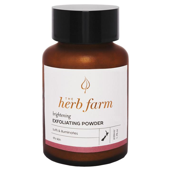 The Herb Farm Brightening Exfoliating Powder 50mL