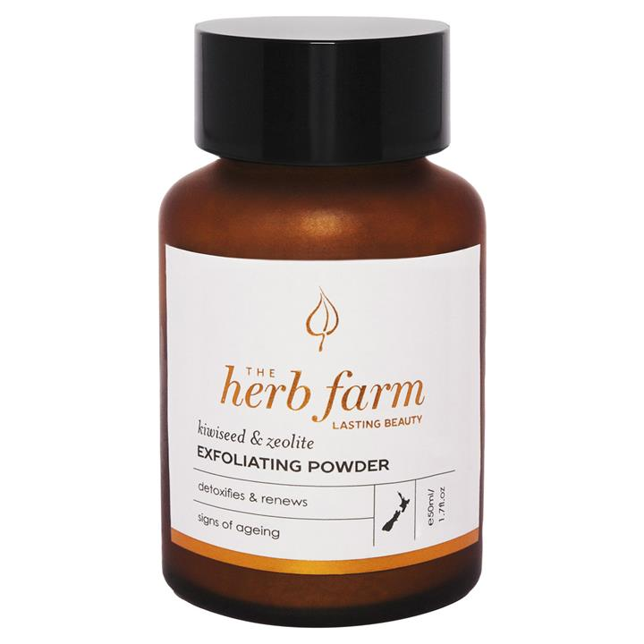The Herb Farm Kiwiseed & Zeolite Exfoliating Powder 50mL