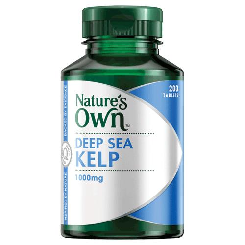 Nature's Own Deep Sea Kelp 1000mg 200 tablets