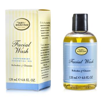 The Art Of Shaving Facial Wash – Peppermint Essential Oil (For Sensitive Skin) 120ml/4oz Men's Skincare