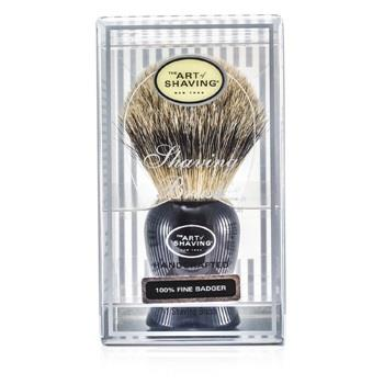 The Art Of Shaving Fine Badger Shaving Brush – Black 1pc Men's Skincare