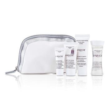 Payot Absolute Pure White Kit: Lotion 30ml +  Mousse Clarte 25ml + Clarte Du Jour 15ml + Concentre Anti-soif Clarte 10ml 4pcs Skincare