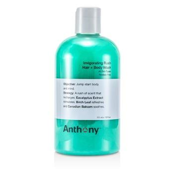 Anthony Invigorating Rush Hair & Body Wash 355ml/12oz Hair Care