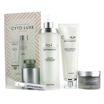 Glotherapeutics Cyto-Luxe Collection (Limited Edition): Body Lotion + Cleanser + Mask + Mask Applicator 4pcs Skincare