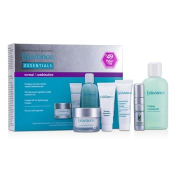 Exuviance Essentials Kit (Normal/ Combination): Cleansing Gel + Eye Complex + Masque + Evening Complex + Perfect 10 Serum 5pcs Skincare