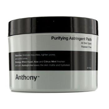 Anthony Logistics For Men Purifying Astringent Pads (For All Skin Types) 60pads Men's Skincare