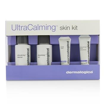 Dermalogica UltraCalming Skin Kit: Cleanser + Mist + Barrier Repair + Serum Concentrate 4pcs Skincare